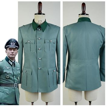 Deutsch Army German Military Uniform Men Cosplay Costume Coat Only Custom Made