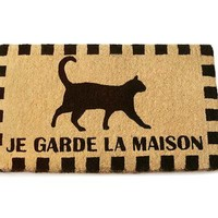 GUARD CAT DOORMAT