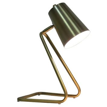 Brushed Gold Task Lamp - Nate Berkus ™