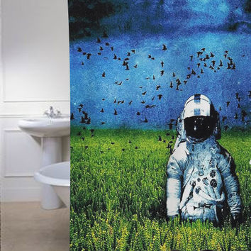deja entendu special shower curtains