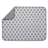 Schroeder & Tremayne XL Dish Drying Mat, Gray - Walmart.com