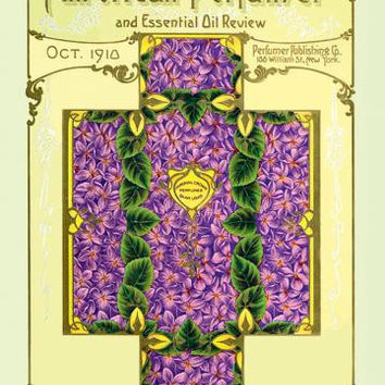 American Perfumer and Essential Oil Review, October 1910 20x30 poster