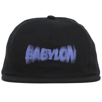Blur Hat Black