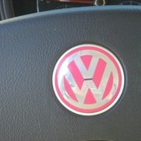 VW Emblem Vinyl Color Inserts for New Beetle Steering Wheel (2011 and older models)