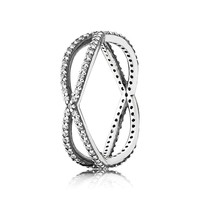 PANDORA Crossing Paths Ring - Size 8.5