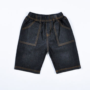 2015 Fashion child denim shorts,summer children jeans Black shorts,boys Leisure and denim short Suitable for aged 2-6 years old