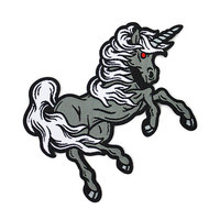 Black Unicorn Patch