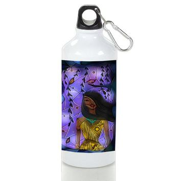Gift Sport Bottles | Pocahontas Stained Glass Aluminum Sport Bottles