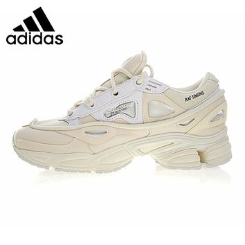 Adidas X Raf Simons Ozweego 2 Women's Running Shoes, White, Shock Absorption  Non-slip  Waterproof  Breathable S81161