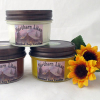 Soy candles, Choose scent, 3-4 oz Jelly Jar, Soy Candle, scented soy candles, container candles, decorative candles, jar candles