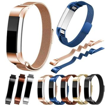 New Arrival 3 Colors Genuine Mesh Stainless Steel Bracelet Watch Bands Strap For Fitbit Alta Tracker Bracelet High Quality