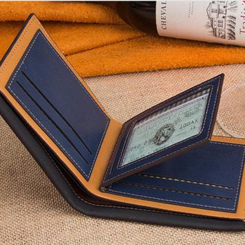 New Man Luxury Brand Leather Wallet