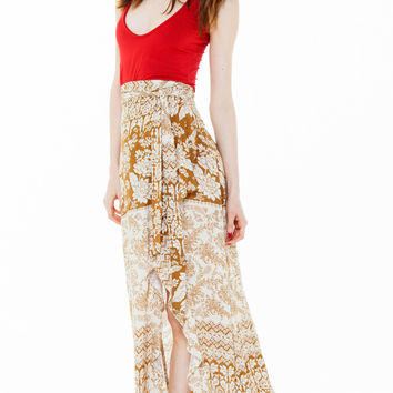 patti skirt rust hazely