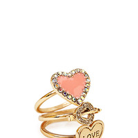 Romantic-At-Heart Ring Set