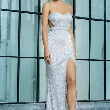 Annabelle Gown - Silver