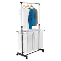 Honey-Can-Do® Adjustable Laundry Center