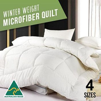 U&H Home Cotton Microfiber Down Alternative Comforter