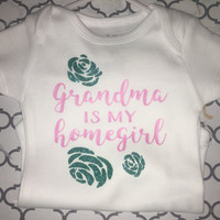 Grandma, MiMi, Nana, etc is my homegirl with roses TOP