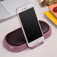 New Fashion Special Soft Sofa Comfortable PU Leather Phone Holder Bracket Universal For iPhone Samsung Phone Stand Mount Holder
