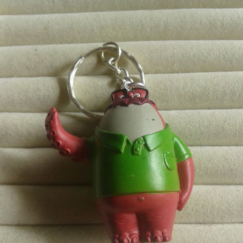 Closing sale - Monsters university   pvc  miniature figure keychain keyring
