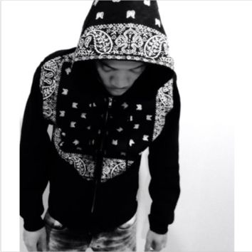 Bandana Hooded Jacket