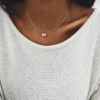 Pink Ella Necklace