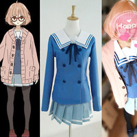 Kuriyama Mirai Costume from Beyond the Boundary Costume
