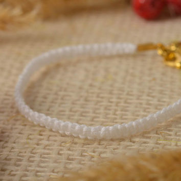 Handmade jewelry string bracelet designer accessories gifts for children