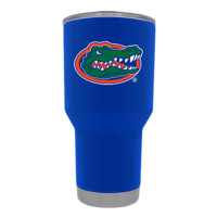 NCAA Florida Gators Blue Powder Coated Tumbler