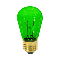 Medium Size Green Light Bulb (12 Pack)