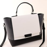 White Large capacity Bag Handbag Shoulder Bag Messenger Cross Package