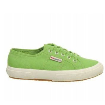Superga 2750 Classic - Green Canvas Low-Top Sneaker