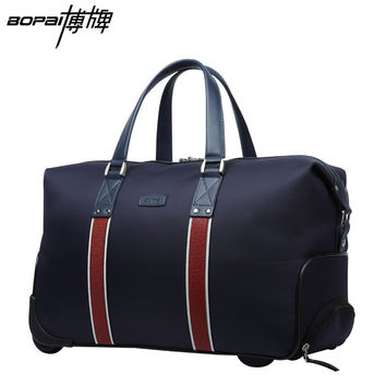 2016 Hot BOPAI Waterproof Trolley Bags for Women and Men Travelling Bag Rolling Luggage Big Capacity Fashionable Duffle Bags