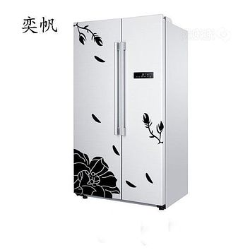 High Quality Wall Sticker Creative Refrigerator Sticker Butterfly Pattern Wall Stickers Home Decor Wallpaper Free Shipping