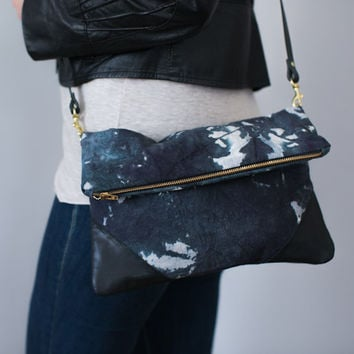 Milkhaus Cross Body Clutch Natural Dyed
