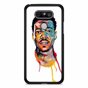Acrylic Painting Of Chance The Rapper LG G5 Case