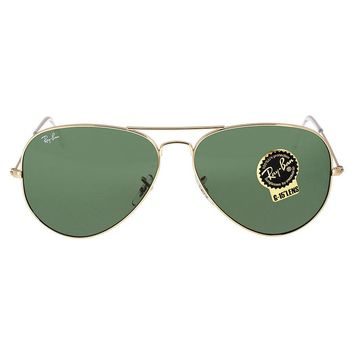 Cheap Ray Ban Aviator Gold Aviator Sunglasses outlet
