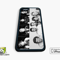 5sos + 1D one direction photos collage boys iPhone Case 4, 4s, 5, 5s, 5c, 6 and 6 plus by Avallen