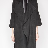 Black draped jacket - Shop the latest Fashion Trends