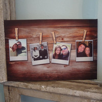 Rustic Canvas Personalized custom print