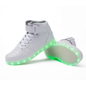 HoverKicks High Top LED Luminous Unisex
