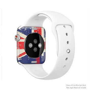 The Vintage London England Flag Full-Body Skin Kit for the Apple Watch