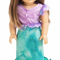 Little Adventures Mermaid Princess Doll Dress