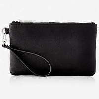 Textured Wristlet - Black from EXPRESS