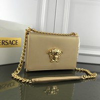 Versace Women Leather Shoulder Bag Shopping Satchel LV Tote Bag Handbag