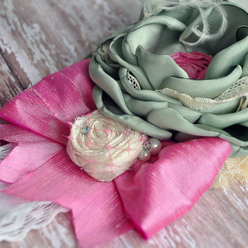 Garden of Eden boutique headband