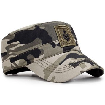 Corporal Rank Embroided Military Cap