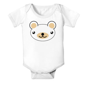 Kyu-T Head - Day Beartholomew Teddy Bear Baby Romper Bodysuit