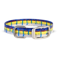 Dublin Dog KOA Waterproof Dog Collar - Blue Marlin