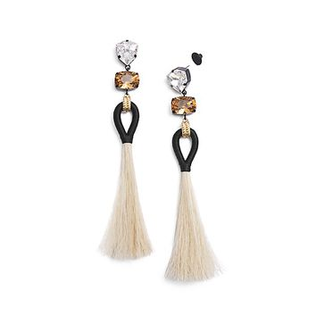 Tory Burch Hanging Tassel Earring